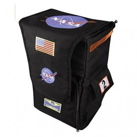 Black astronaut backpack by Aeromax