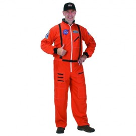 Adult NASA space suit (orange)