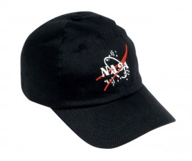 NASA baseball cap (black)