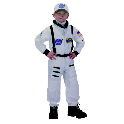 Nasa Space Suit White Spacekids Space Toys Dressing