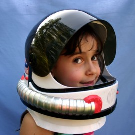 NASA space helmet