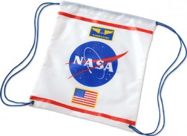 NASA drawstring bag