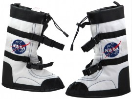 Galactic Gear NASA Space boots (overshoes)