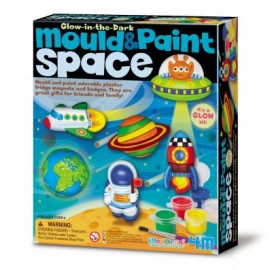 Mould and Paint Glow Space by 4M