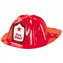 Six Firefighter party hats