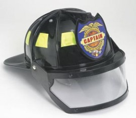 Junior Firefighter helmet with visor
