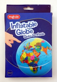 Magnoidz inflatable globe