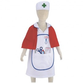 Nurse dressing up outfit age 3-6 years