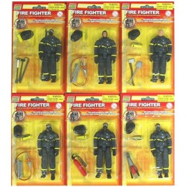 Power Team Elite Fire Fighter Action Figure 9.5 cm