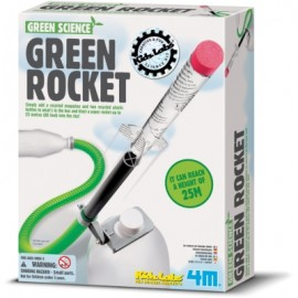 Science Museum Green Rocket
