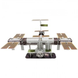International Space Station 3d puzzle