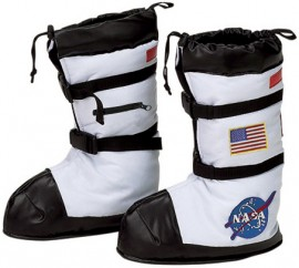 Astronaut space boots