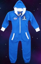 NASA flight suit style supersoft onesie