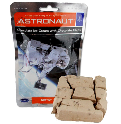 Astronaut Double Chocolate Chip Ice Cream - spacekids ...