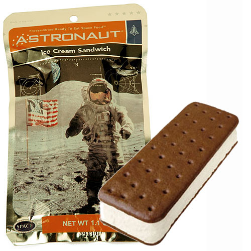how to prepare astronaut ice cream