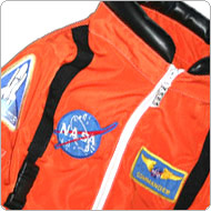 click here to see our replica NASA space shuttle pilot suit