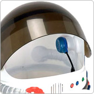 click here for our replica astronaut helmet