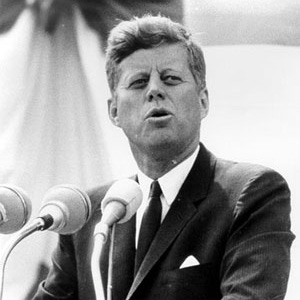 president john f kennedy and the space exploration race The longer term consequences for nasa were severe jfk's assassination led to  president nixon's election after lbjs term, and nixon effectively neutered.
