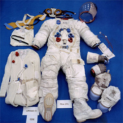 putting on a space suit - photo #35